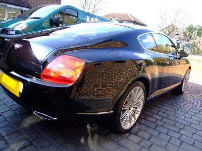 Bently GT Speed looking its best now