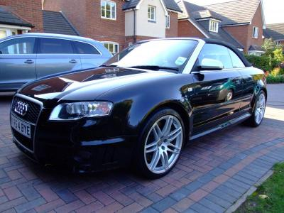 Audi RS4 after poilish & wax